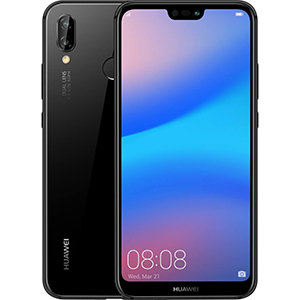 Huawei P20 Lite Blue with BT Headset