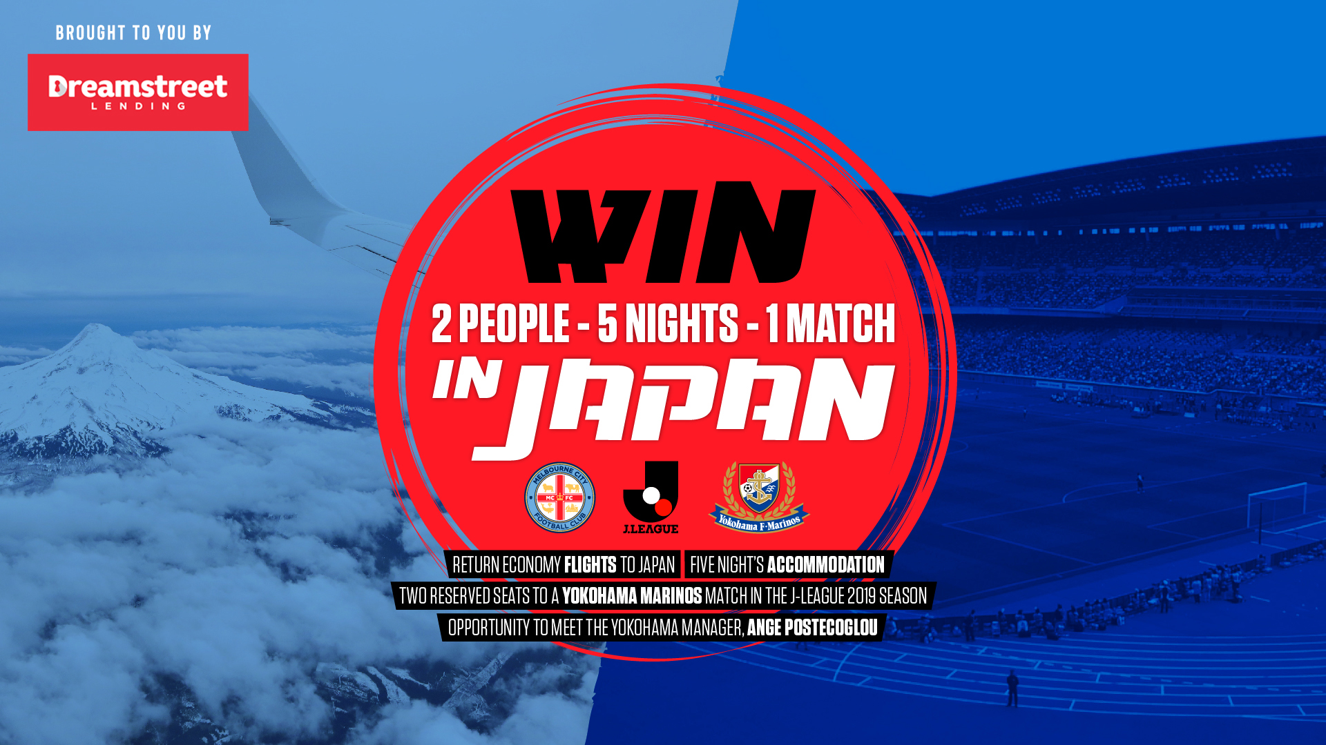 WIN A TRIP TO JAPAN, WITH THANKS TO DREAMSTREET LENDING