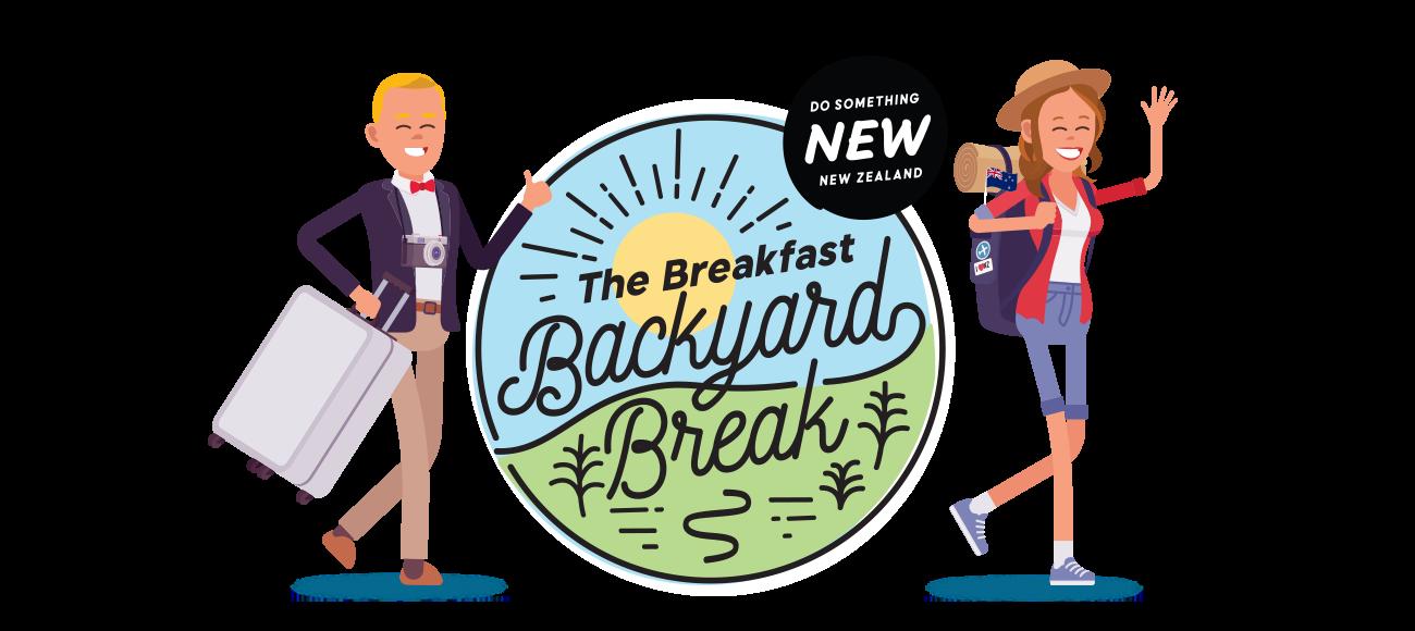 The Breakfast Backyard break