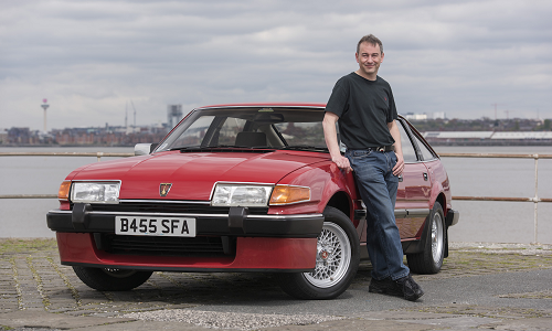John Jones' Rover SD1 Vitesse