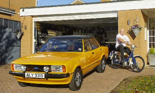 Simon Hoar's Ford Cortina