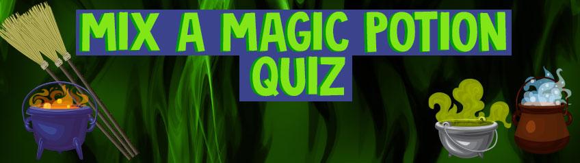 Mix a magic potion quiz