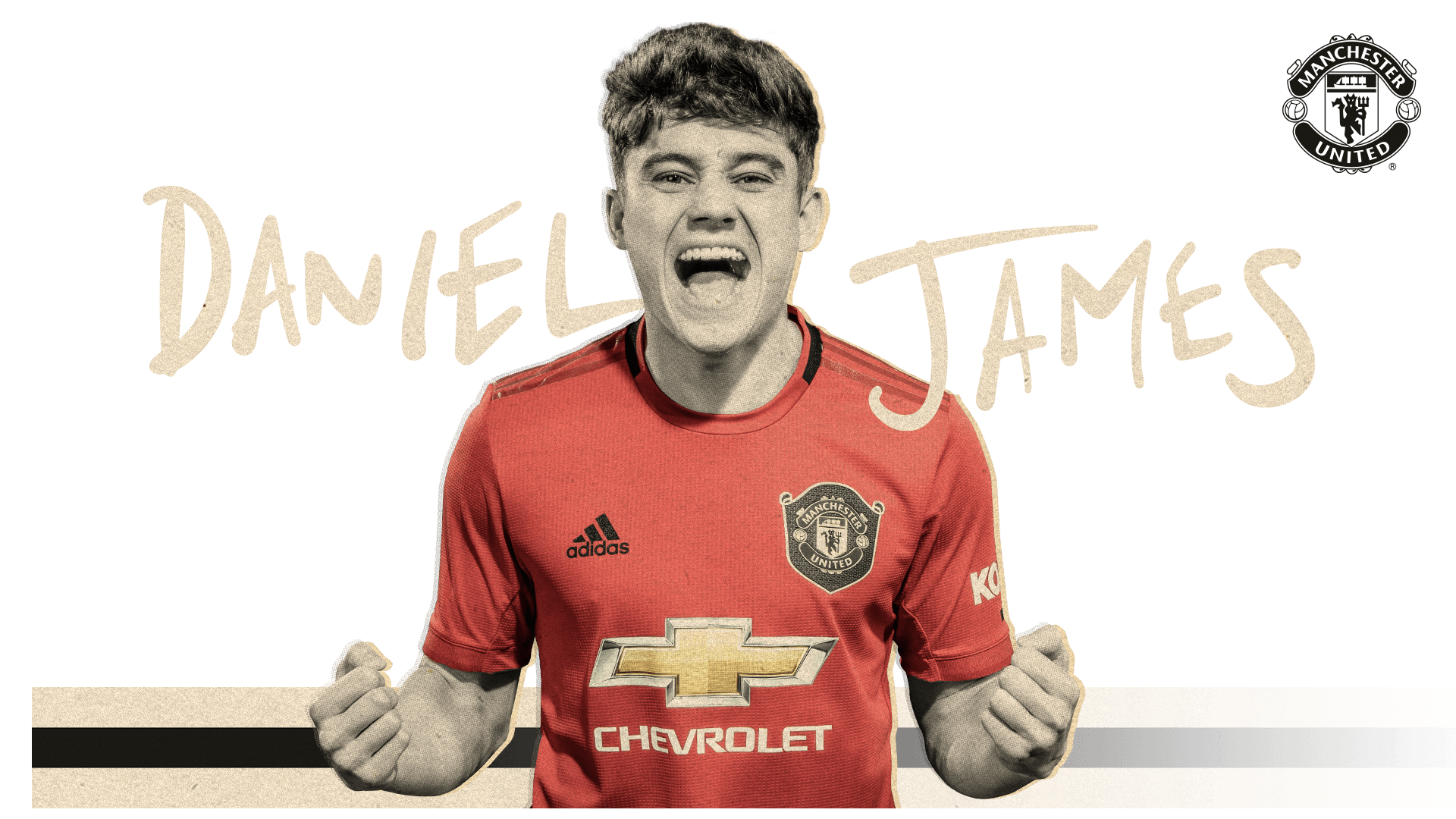 Manchester United Daniel James Signed Shirt