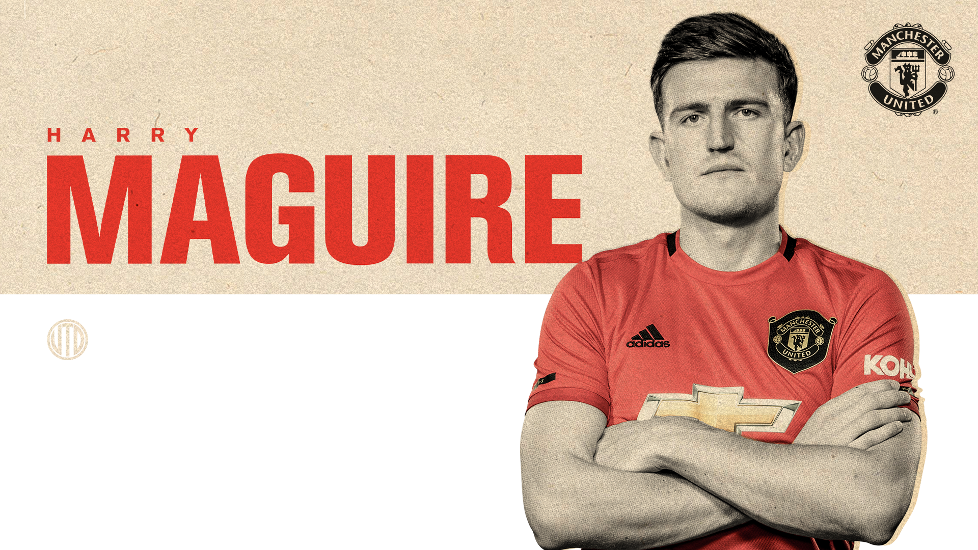 Manchester United Harry Maguire Signed Shirt Competition