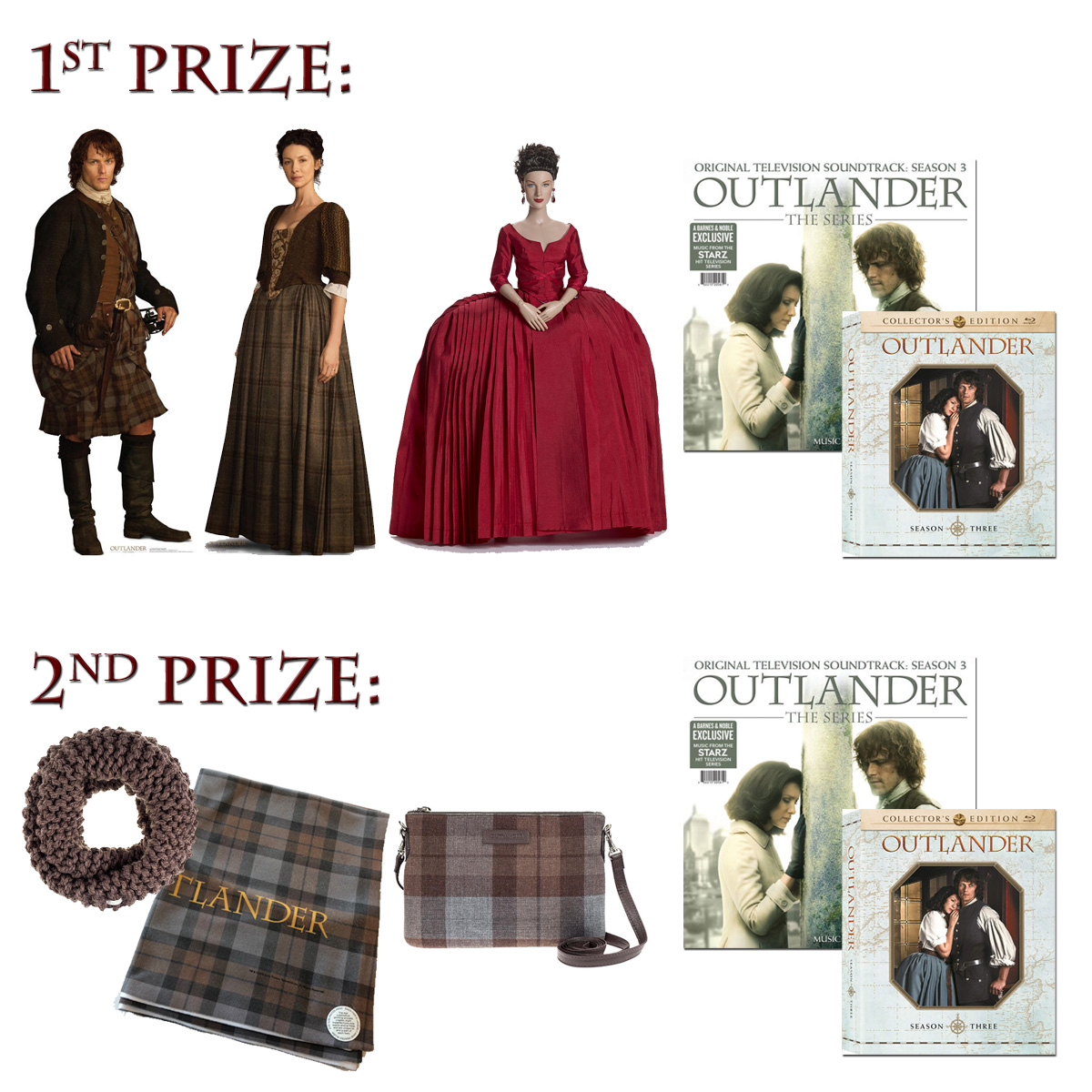 ENTER FOR YOUR CHANCE TO WIN THIS MONTH'S PRIZES!