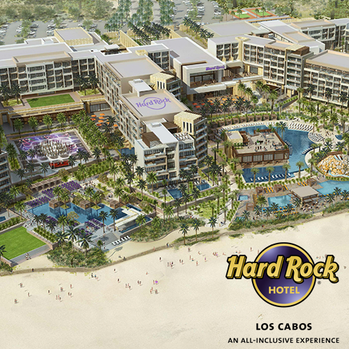 """<span style=""""color: #ff0000;"""">WIN</span> A 7-night holiday at the all-inclusive Hard Rock Hotel Los Cabos, due to open in summer 2019"""