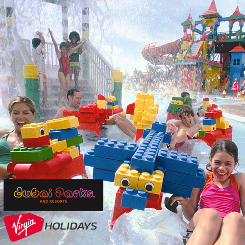"""<span style=""""color: #ff0000;"""">WIN</span> A 3-night stay for a family of four at the Lapita Hotel at Dubai Parks & Resorts, including Virgin Atlantic flights and park tickets"""